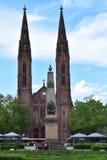 Historische deutsche Kirche Stockfotografie