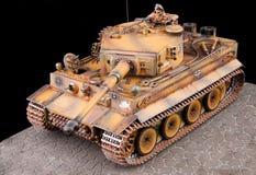 Duitse zware tank van het model van de Wereldoorlog II Royalty-vrije Stock Afbeeldingen