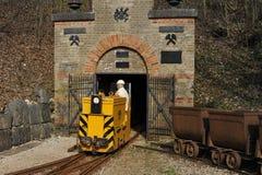 Historische Eisenerzmine Lizenzfreies Stockfoto