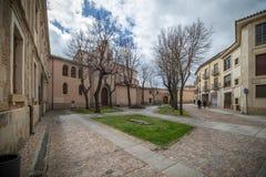 Historische en culturele stad, in het centrum van Spanje Royalty-vrije Stock Foto