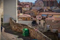 Historische en culturele stad, Spanje Royalty-vrije Stock Afbeeldingen