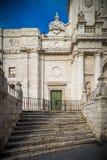 Historische en culturele stad van berichten van Spanje Stock Fotografie