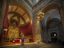 Historische en culturele stad van berichten van Spanje Royalty-vrije Stock Afbeeldingen