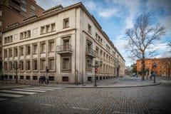 Historische en culturele stad van berichten van Spanje Royalty-vrije Stock Afbeelding