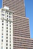 Historische en Moderne Architectuur Stock Afbeelding