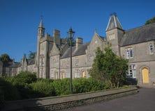 Historische englische Armenhäuser Stockfotografie