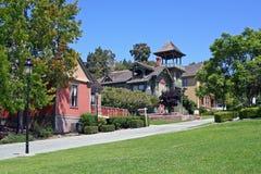 Historische Erbe-Park-Reihe in San Diego Lizenzfreie Stockbilder