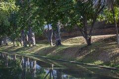 Historische Festung und alte Wand Lizenzfreies Stockbild