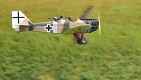 Historische Flugzeuge der deutschen Klapperkiste Lizenzfreie Stockbilder