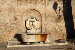Historische Fontein van Rome Royalty-vrije Stock Foto