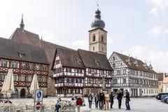 Historische Forchheim royalty-vrije stock foto's