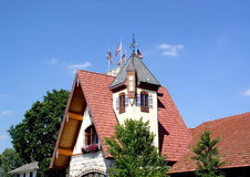 Historische Frankenmuth Stock Afbeelding