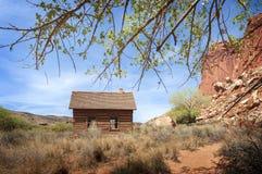 Historische Fruita, het Schoolgebouw van Utah Stock Foto's