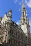 Historische Gebäude in der alten Mitte in Brüssel, Belgien Stockfotografie