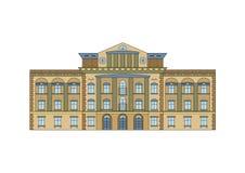 Historische Gebäude-Fassade Stockbilder