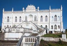 Historische Gebäude-Fassade Amparo Lizenzfreie Stockfotografie