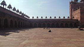 Historische Gebäude Fatehpur Sikri in Agra, Indien stockfoto