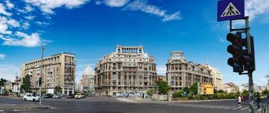 Historische Gebäude im Bukarest-Stadtzentrum Lizenzfreie Stockfotografie