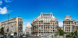 Historische Gebäude im Bukarest-Stadtzentrum Lizenzfreies Stockbild