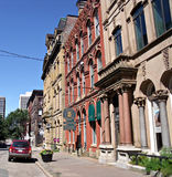 Historische Gebäude im Stadtzentrum gelegen Lizenzfreies Stockfoto