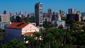 Historische Gebäude von im Stadtzentrum gelegenem Recife, Pernambuco, Brasilien Stockbild
