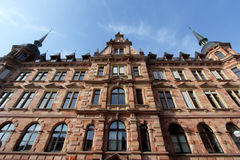 Historische Gebäude von Wiesbaden, Deutschland lizenzfreie stockbilder