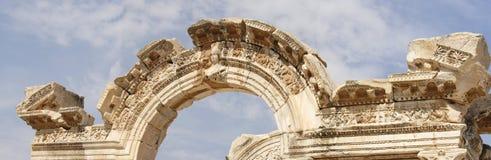 Historische gebieds van Ephesus Royalty-vrije Stock Foto