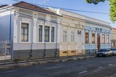 Historische Gebouwen in Amparo Royalty-vrije Stock Foto