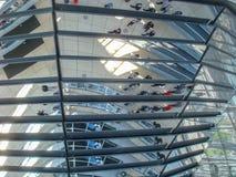Historische gebouwen in Berlijn: Reichstag - het Duitse Parlement stock foto's
