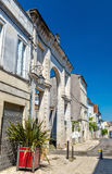 Historische gebouwen in Cognac, een stad in Frankrijk Royalty-vrije Stock Afbeeldingen