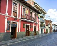 Historische Gebouwen in Cuenca Van de binnenstad, Ecuador Royalty-vrije Stock Fotografie