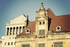 Historische gebouwen in het centrum van St.Louis Royalty-vrije Stock Foto's