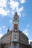 Historische Gebouwen in Lille Stock Foto's
