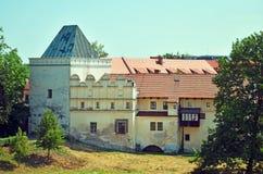 Historische gebouwen in Midden-Europa Royalty-vrije Stock Foto's