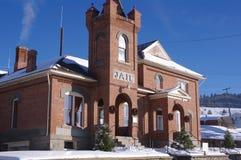 Historische Gebouwen Philipsburg Montana royalty-vrije stock foto's