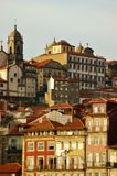 Historische Gebouwen in Porto Stock Foto's