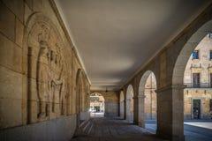 Historische gebouwen van Salamanca Royalty-vrije Stock Foto's