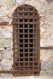 Historische Gefängniszellentür Lizenzfreies Stockfoto