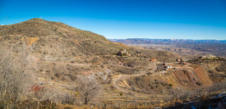 Historische Geisterstadt Jerome Arizonas Stockbild