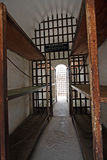 Historische gevangenis cellblock Royalty-vrije Stock Foto's