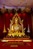 historische goldene Buddha-Statue lizenzfreies stockbild