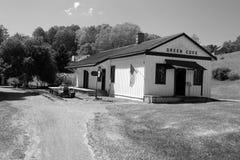 Historische grüne Bucht-Station - grüne Bucht, Virginia Lizenzfreies Stockfoto