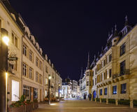 Historische Groothertogelijke Palais Stock Afbeeldingen