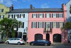 Historische Häuser stockbilder