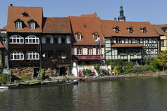 Historische Häuser, Bamberg Stockfoto