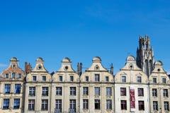 Historische Häuser in Frankreich Stockbilder