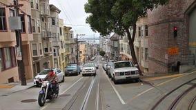 Historische Häuser San Franciscos stock video