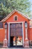 Historische Hacienda Stock Foto's