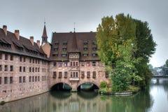 Historische heilig-Geist-Spital Royalty-vrije Stock Foto