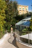 Historische Hotels, Sorrent, Italien Lizenzfreies Stockbild